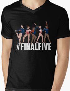 #FinalFive Womens Gymnastics Team 2016  Mens V-Neck T-Shirt