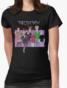It's TheOshiShow Gang! Womens Fitted T-Shirt