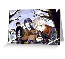 Bungou Stray Dogs Greeting Card