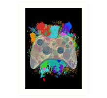Painted Xbox 360 Controller Art Print