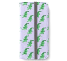 Pixel Croc iPhone Wallet/Case/Skin