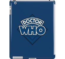 Doctor Who - Diamond Logo Flat Blue. iPad Case/Skin