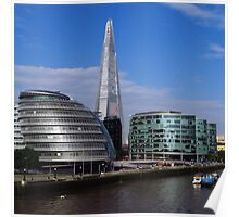 More London, City Hall & The Shard Poster