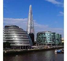 More London, City Hall & The Shard Photographic Print