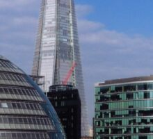 More London, City Hall & The Shard Sticker