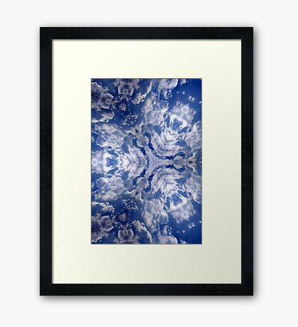 dragons of the sky Framed Print