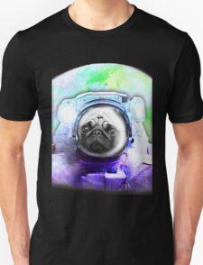 Space Pug Unisex T-Shirt