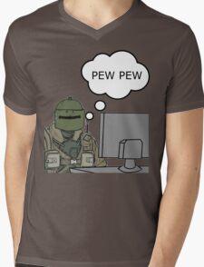 Pew Pew! Mens V-Neck T-Shirt