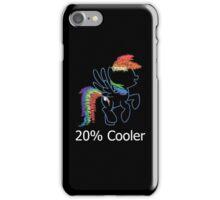 Sprayed Rainbow Dash (20% Cooler) iPhone Case/Skin