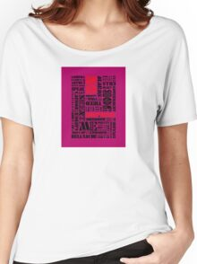 Writer*s Block • No Surprises - Colourful Women's Relaxed Fit T-Shirt