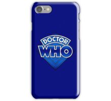 Doctor Who - Diamond Logo Blue gradient. iPhone Case/Skin