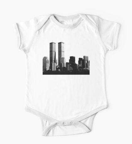 twin towers One Piece - Short Sleeve