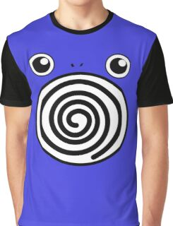 Pokemon Poliwhirl Graphic T-Shirt