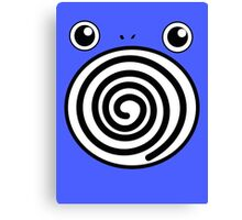 Pokemon Poliwhirl Canvas Print