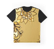 Gold Lace Graphic T-Shirt