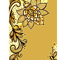Gold Lace Photographic Print