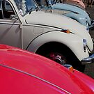 another vw beetle line up by Perggals© - Stacey Turner