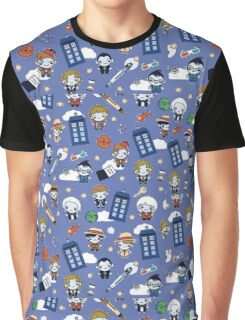 Doctor who All over Graphic T-Shirt
