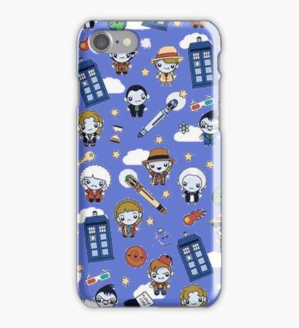 Doctor who All over iPhone Case/Skin