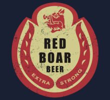 Black Knight's Red Boar Beer Kids Clothes