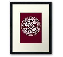 Doctor Who - High Council of the Time Lords - Gallifrey Framed Print