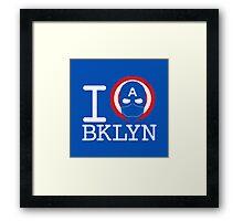 I Love Brooklyn Framed Print