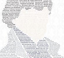BBC Sherlock Holmes Typography by consultingeek