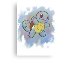 Watercolour Squirtle Canvas Print