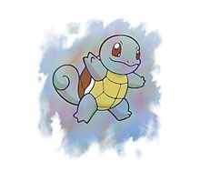 Watercolour Squirtle Photographic Print