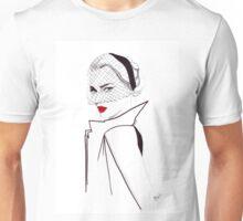 40's Glamour Watercolour Illustration Unisex T-Shirt