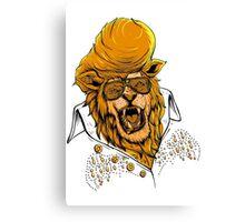 Elvis Lion  Canvas Print