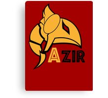Azir League of Legends Canvas Print