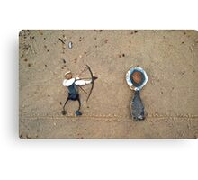 Right on Target! Canvas Print