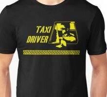 Taxi Driver (yellow) Unisex T-Shirt