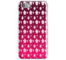 Pink Star Fantasy Gradient Pattern  iPhone Case/Skin