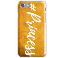Gold Princess iPhone Case/Skin