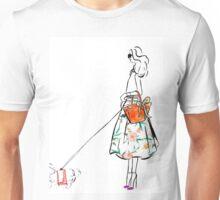 Along the Upper East Side Watercolour Illustration Unisex T-Shirt