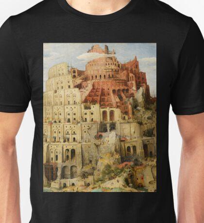 Pieter Bruegel Tower of Babel Unisex T-Shirt