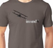 North by Northwest (black) Unisex T-Shirt