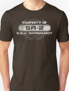 Naval Property of SR2 Unisex T-Shirt