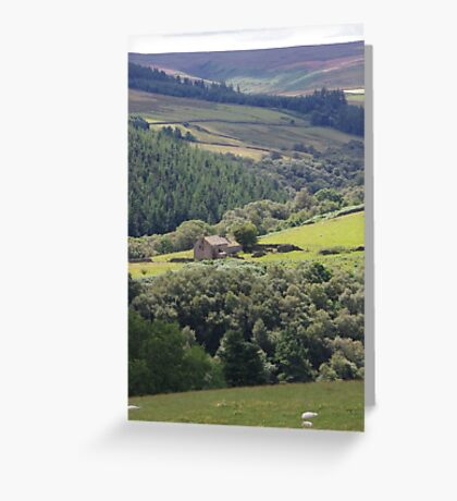 Remote Dwelling Greeting Card