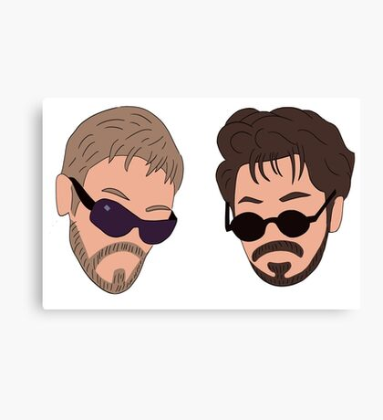 Andy Samberg, Justin Timberlake, Saturday Night Live - Dick in a Box Canvas Print