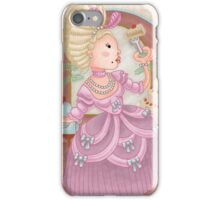 Marie Antoinette Loves Cake iPhone Case/Skin