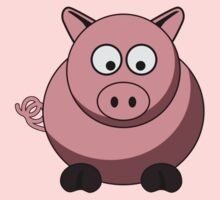 Cartoon Pig by mdkgraphics