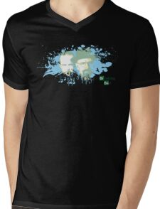 -BREAKING BAD- The Duo Mens V-Neck T-Shirt