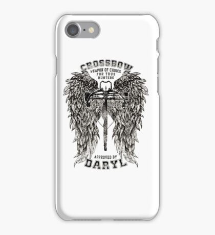CROSSBOW APPROVED BY DARYL ! iPhone Case/Skin