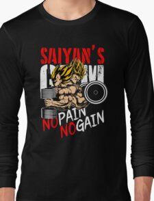 GOKU AND VEGETA - GYM OF THE SAIYANS Long Sleeve T-Shirt