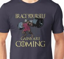 Gains are Coming Unisex T-Shirt