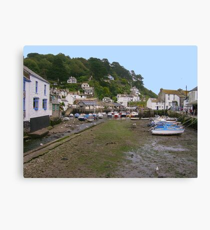 Polperro Harbour, Cornwall Canvas Print