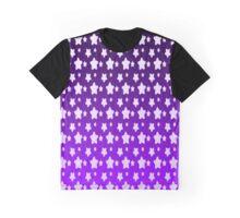 Indigo Child Star Gradient Pattern Graphic T-Shirt